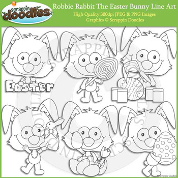 Robbie Rabbit The Easter Bunny