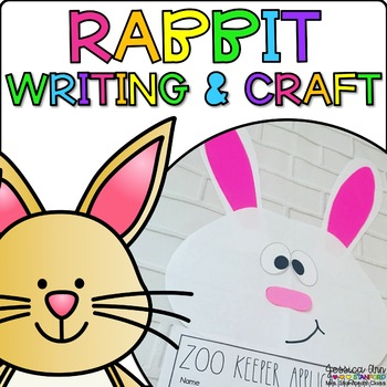 Robby the Rabbit {Animal Craftivity and Writing Prompts!}