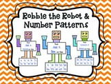 Robby the Robot - Number Patterns Craftivity