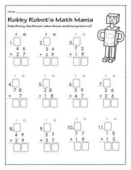 Robbys Robot Math Mania