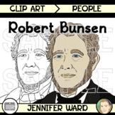 Robert Bunsen Clip Art