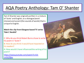 Robert Burns - Tam O'Shanter 1
