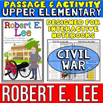 Robert E. Lee Biography Reading Passage: Interactive Noteb