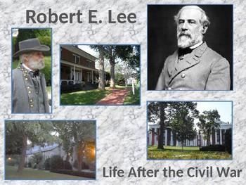 Robert E. Lee-Confederate States of America General-Life A