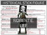 Robert E. Lee Historical Stick Figure (Mini-biography)