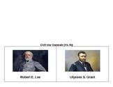 Robert E. Lee & Ulysses S. Grant Foldable SOL VS.7b