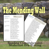 Robert Frost Mending Wall  One Page Close Reading