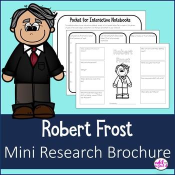 Robert Frost Mini Research Brochure