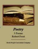 Robert Frost - Nothing Gold/ Road Not Taken/ Stopping By Woods - Poetry
