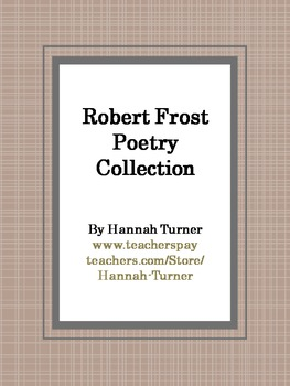 Robert Frost Poems Collection