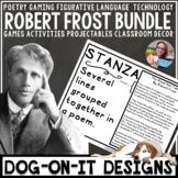 Robert Frost Poetry Growing Bundle - Lessons, Technology, Figurative Language