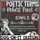 Robert Frost Poetry Figurative Language Posters