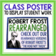 THE ROAD NOT TAKEN BY ROBERT FROST ACTIVITY