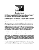 Robert Fulton Biography and Assignment