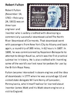 Robert Fulton Handout