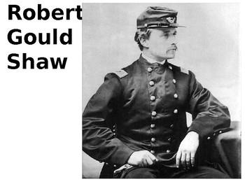 Robert Gould Shaw  - Glory Source Analysis Activity