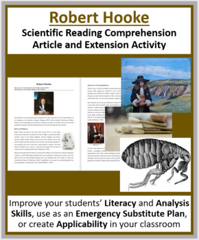 Robert Hooke - A Famous Scientist Reading