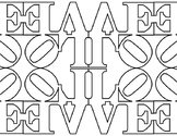 Robert Indiana LOVE Tile Pack