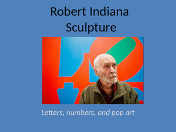 Robert Indiana - Letter Sculpture