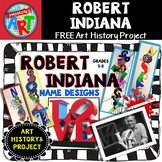 Robert Indiana Power Point and Lesson