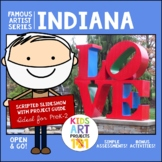 Robert Indiana Project-Based Art Unit for Famous Artist Se