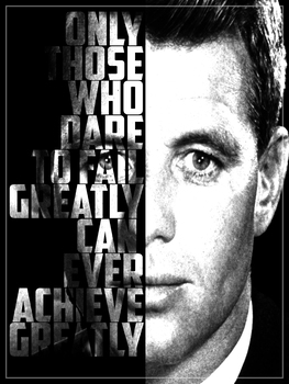 Robert Kennedy Inspirational Quote Poster