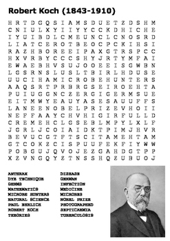 Robert Koch Word Search