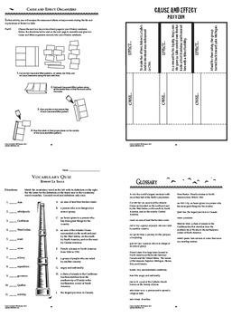 Robert La Salle New World Explorer Interactive Notebook Unit