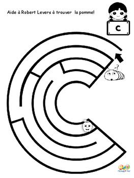 Robert Levers de terre et ses labyrinthes
