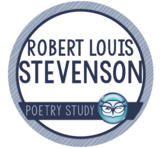 Robert Louis Stevenson - Author Study and Poem Analysis Packet