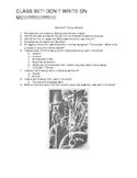 """Robert Louis Stevenson's """"Markheim"""" Questions"""