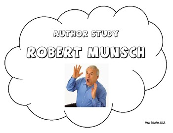 Robert Munsch Author Study Packet and Activities!