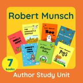 Robert Munsch Author Study Unit