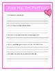 Robert Munsch - KISS ME, I'M PERFECT -Comprehension & Text