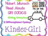 Robert Munsch Listen and Connect-QR codes