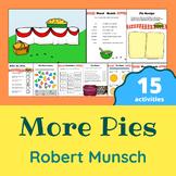 Robert Munsch - More Pies Activity Pack