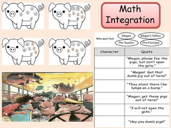 Robert Munsch PIGS Journal Math Comprehension Cause Effect Sequence Elements