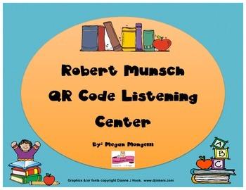 Robert Munsch QR Code Listening Center