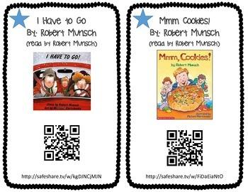 Robert Munsch QR Code Read Alouds