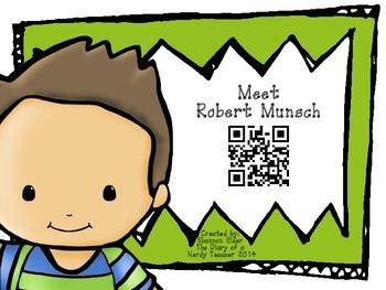 Robert Munsch QR Readers for Listen to Reading