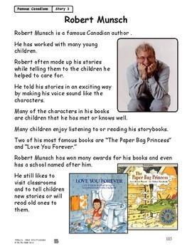 Robert Munsch Reading Lesson Gr. 1-2