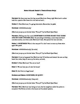 Robert Munsch Scripts (Reader's Theatre or Drama Skits)
