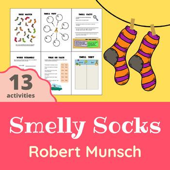Robert Munsch - Smelly Socks Activity Pack