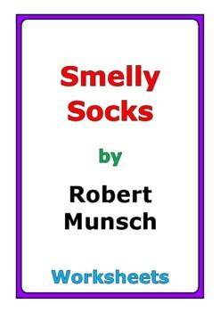 """Robert Munsch """"Smelly Socks"""" worksheets"""