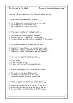 Stephanies Ponytail By Robert Munsch Robert Munsch Quot