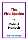 """Robert Munsch """"The Fire Station"""" worksheets"""
