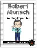 Robert Munsch Writing Paper Set