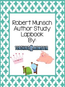 Robert Munsch author study lapbook