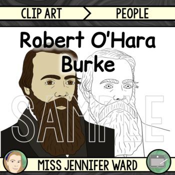 Robert O'Hara Burke Clip Art