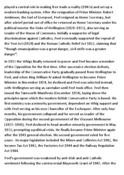 Robert Peel Handout